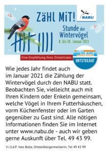 Aushang_Wintervogelzaehlaktion