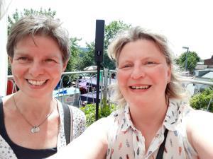 Ines Bolle und Katrin Elste-Pilz zu Gast